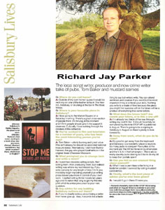 Salisbury Life Magazine Interview - click to view the full size article